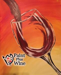 wine glass olive garden